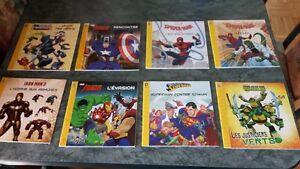 8 livres Marvel