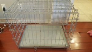 """Dog crate - small to medium size dogs - 33"""""""