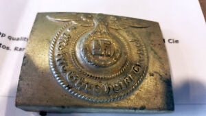 German World War 2 SS Belt Buckle