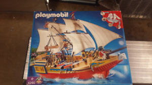 Playmobil 4290 Pirate ship discontinued