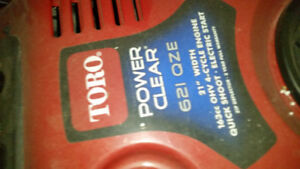 Toro 621 QZE Snowblower- Open to offers