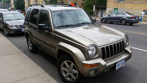 2003 Jeep Liberty Limited Edition 4x4 .....RARE ONLY 93,800KM