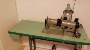 factory sewing machine table for sale !