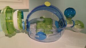 Kit cage Habitrail et accessoires pour hamster a vendre!