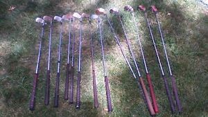 GOLF CLUBS AND CARRY BAG Stratford Kitchener Area image 1