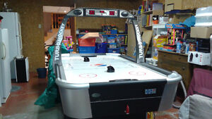 Table hockey sur aire