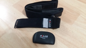 Polar WearLink Coded Heart Rate monitor and strap
