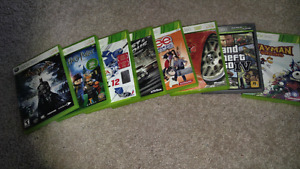 Xbox 360 games all for only $40, great condition!