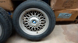 BMW 5 series rims and tires 3 only Kitchener / Waterloo Kitchener Area image 1