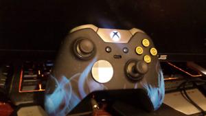 """Xbox Elite Controller """"Blue Flame"""""""