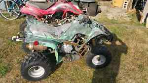 Tow knock off four-wheelers