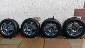 Winter Alloy Wheels & Tyres Ford Fiesta