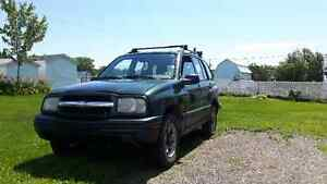 chevrolet tracker 2000 automatique