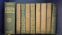 William Shakespeare The Complete Works & Various Hardcover Books