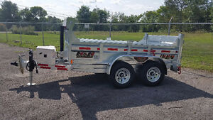 2018 N&N 5 Ton Dump Trailer - 6 X 10 HOT DIPPED GALVANIZED