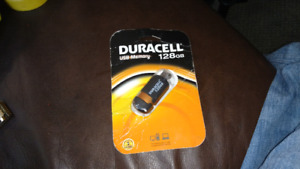 New in package DURACELL 128 GB usb stick