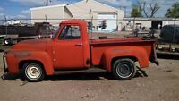 Wanted 1948-1958 Ford or Mercury truck project