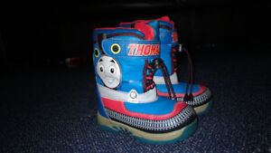THOMAS THE TRAIN WINTER BOOTS (size 9)