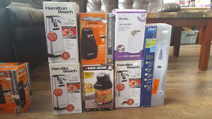 Electric Can Openers, Food choppers, Mixers & Blender