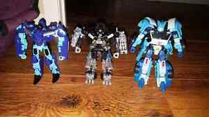 Three Transformers ( Hold )