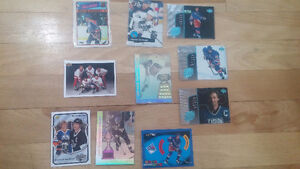 10 Collectible WAYNE GRETZKY hockey Cards only $10 - LOT 1