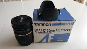 Pour canon Tamron SP AF 17-50mm f/2.8 XR LD ASPHERICAL (IF) Di2