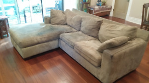 3 - Section Foldaway Bed Sofa with Lounger - $80 OBO