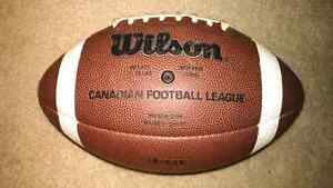 Wilson CFL original replica football. Cambridge Kitchener Area image 2