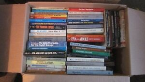 345 Variety of Paperback Books