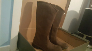 Tall Timberland Stoddard Brown Boots