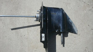 Complete lower unit Merc. Outboard