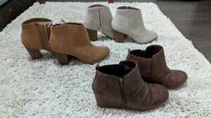 Brand name shoes/booties