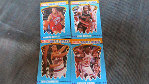 "Fleer ""90 NBA All-Stars(4)"