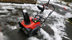 Simplicity ss822ex 22 inch cut single stage gas snowblower