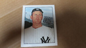 Whitey Ford 1983 50 years of Yankee all stars card