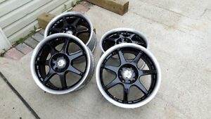 """4 American Racing 16""""×7 alloy wheels for sale"""