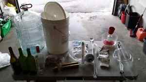 Complete home wine making kit including good quality corker Kitchener / Waterloo Kitchener Area image 1