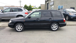 MANUAL TRANSMISSION JDM 2001 SUBARU FORESTER S/TB low kms