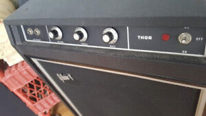 VINTAGE GIBSON THOR BASS COMBO AMP