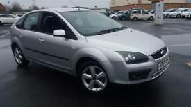 2005 05 NEW SHAPE FORD FOCUS 1.6 ZETEC CLIMATE 5 DOOR.LONG MOT.ANY PX WELCOME .