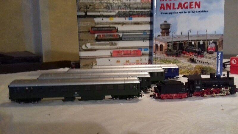Modelleisenbahn H0 Konvolut Loks Wagen Modellbahn H0