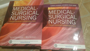 SELLING: $50 MEDSURG NURSING 8TH EDITION (STUDY GUIDE&TEXTBOOK)