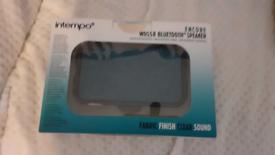 Intempo Encore WDS58 Bluetooth Speaker. Brand New.