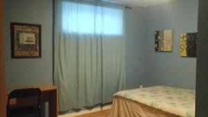 Nice room in basement  for rent  in decent  house east Regina