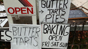 Advertising signs(bakery), sandwich board style, Peterborough Peterborough Area image 3