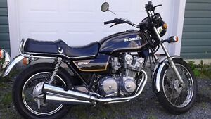 2 motos rares: CB750K + CL70