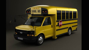2012 mini school bus wheelchair accessible