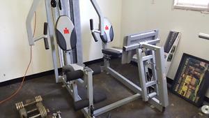 Iron man fitness machine