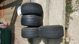 Fat boy sled trailer tires