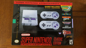 Super Nintendo Classic Edition SNES New Neuf